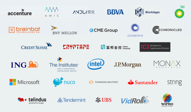 Enterprise Ethereum Alliance members