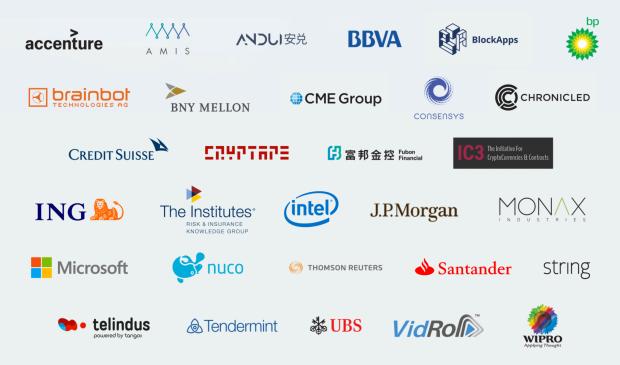 Enterprise Ethereum Alliance members